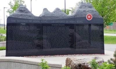 Defence of Hong Kong Memorial, Ottawa, Ontario