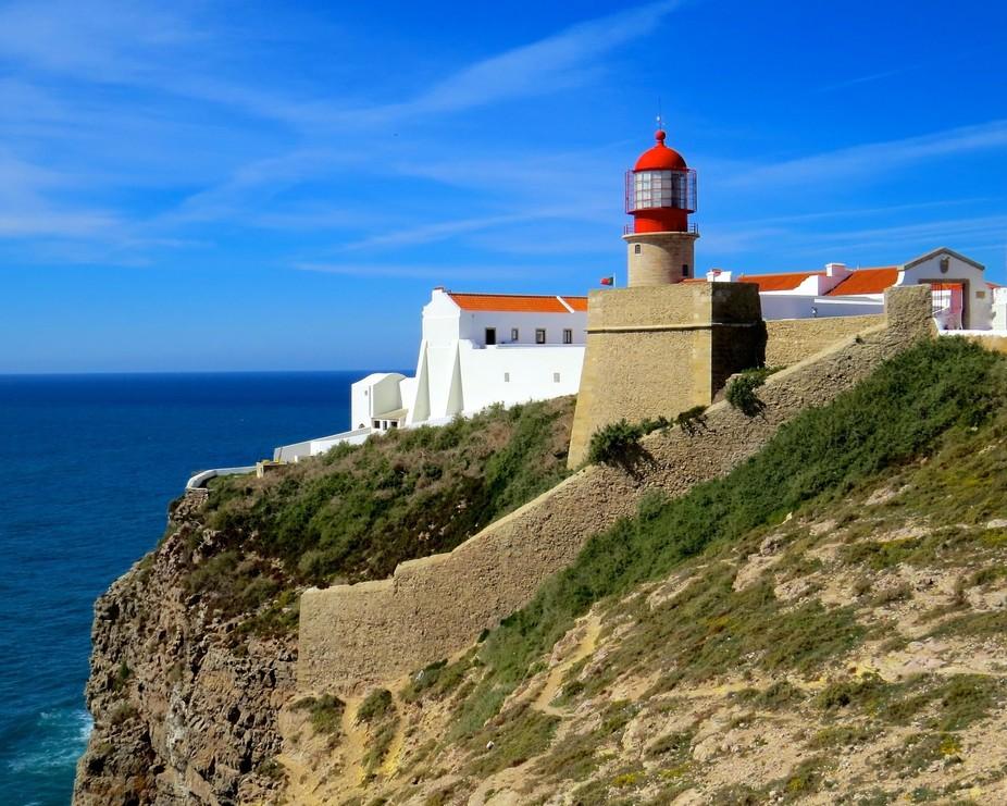 Cape St. Vincent, Portugal, lighthouse