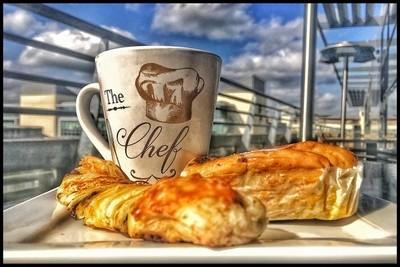 Sweet breakfast before work