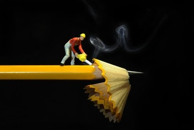 A Pencil Worker.........