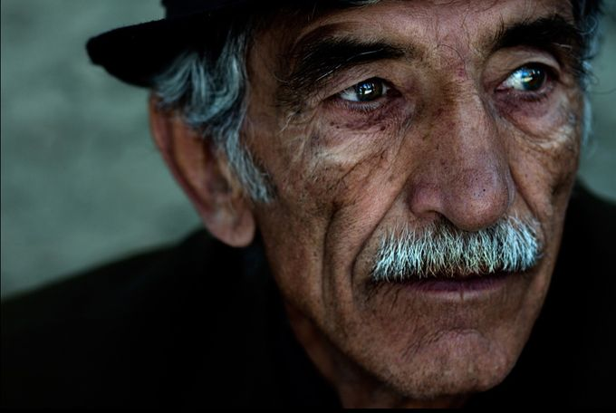 portrait by TwentySevenSins - The Face Of A Man Photo Contest