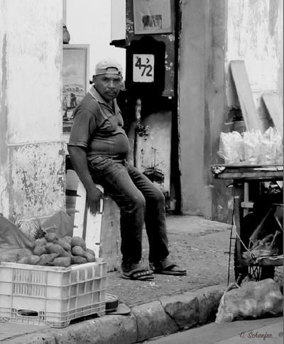 Street vendor, Cartegena , Columbia  # 6
