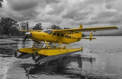 sea plane, Loch Lomond