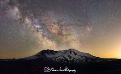 Milky Way Mt St Helens