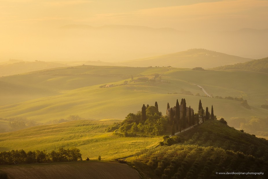 Val D'Orcia  For more info visit my website www.davidkooijman.photography