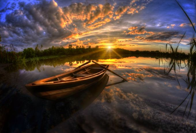 Rowboat by DEGrabenstein - Ships And Boats Photo Contest
