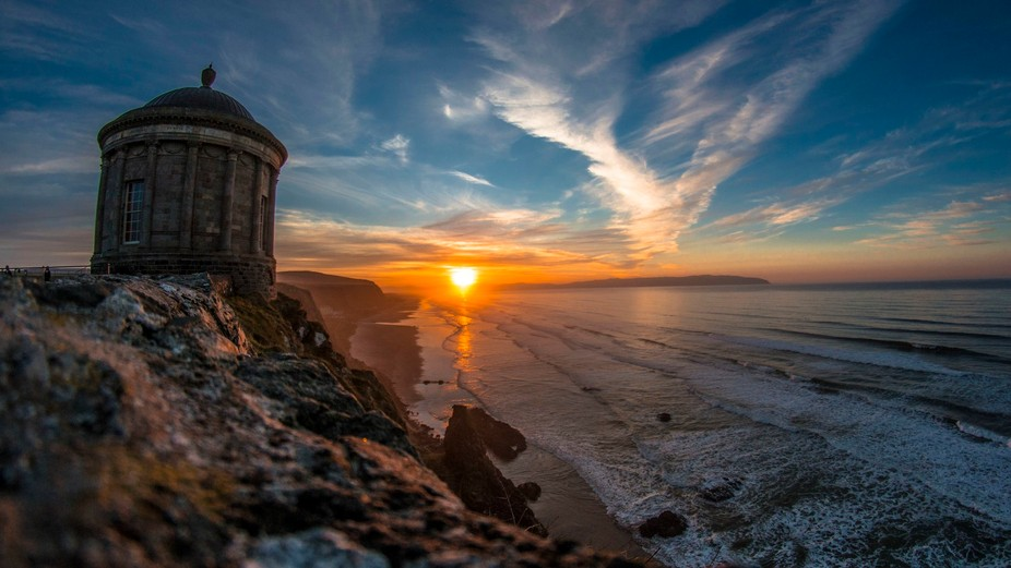 This photo was taken during my last road trip in Northern ireland. This is Mussenden Temple, an i...