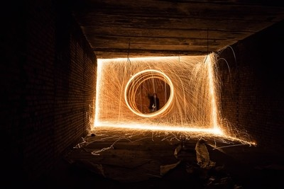 Geometry of sparks.