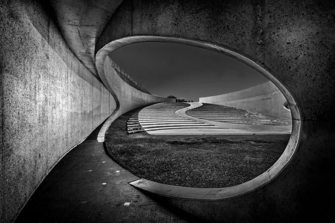 Under the bridge by brandtjarno - Shooting Tunnels Photo Contest