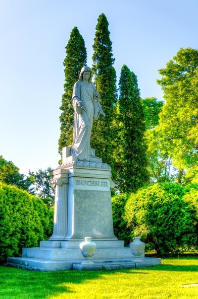 Calvary Cemetery, St. Paul, MN.