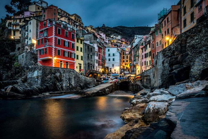 Old World Charm of Riomaggiore by ericcriswell - Photogenic Villages Photo Contest