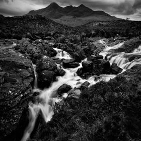 Black Cullin Waterfall
