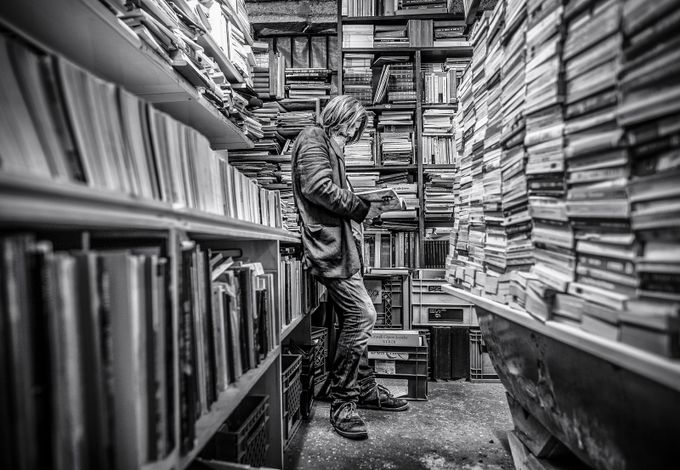 Libreria acqua alta by Marco_Tagliarino - Letters And Words Photo Contest