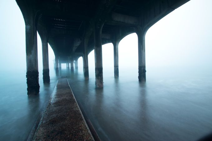 Bournemouth piers by jasongines - The View Under The Pier Photo Contest