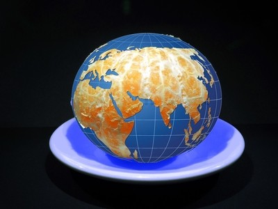 Our World - is not Mandarin, he must not be divided into slices...
