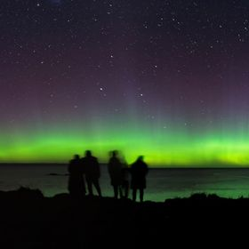 The huge aurora on the night of 28 May 2017 brought out the tourists to watch the Southern Lights. I like this image because of the human interes...