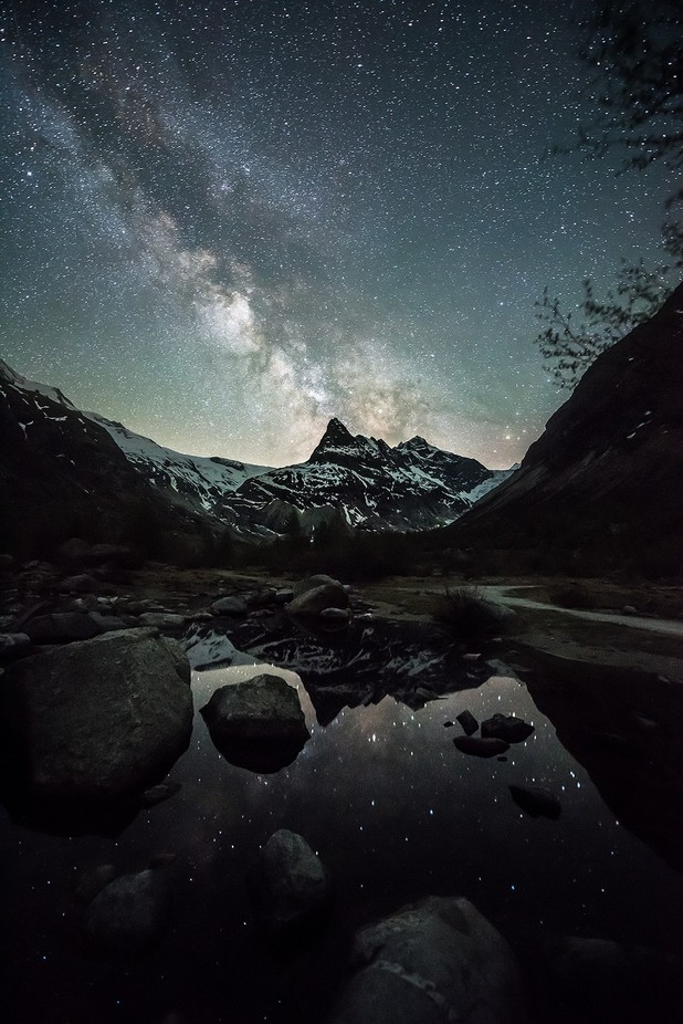 Beauty of Darkness by NiCoBoCo - Capture The Milky Way Photo Contest