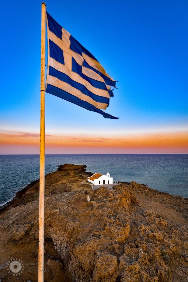 Agios Nikolaos by SamGorski - Flags and Banners Photo Contest