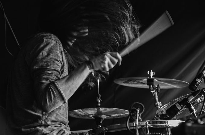The drummer by zoemeadows - Capture Motion Blur Photo Contest