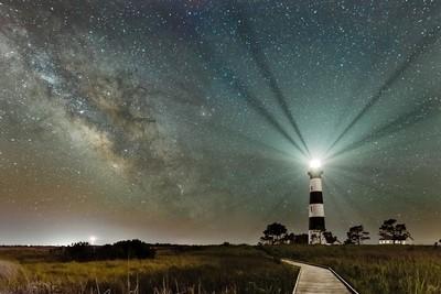 Bodie Island Lighthouse & Milky Way