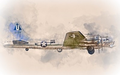 Commemorative Air Force Boeing B-17G Flying Fortress
