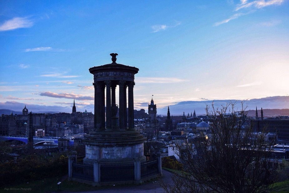 Took a walk up Calton Hill, in Edinburgh. I have wanted to capture this shot for ages now ,after ...