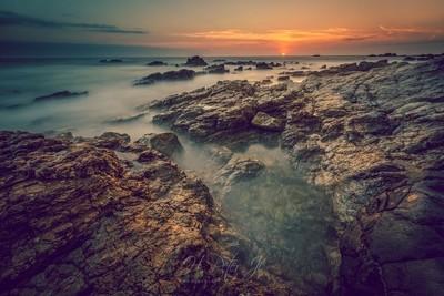 Then, sun touched horizon_mwm