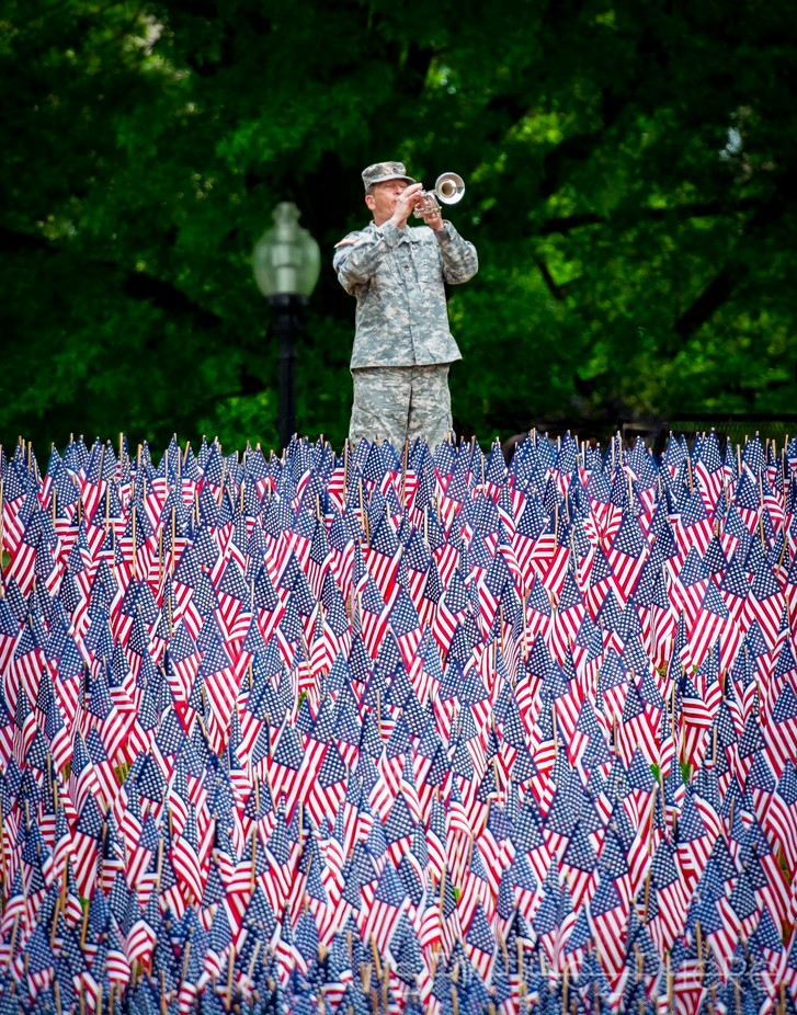 Taps by LauraAnnG - Flags and Banners Photo Contest