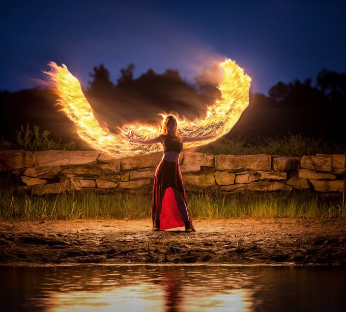 Phoenix by tylerrobertoxley - It Is Red Photo Contest
