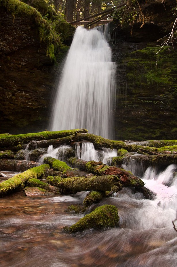 Shadow Falls by 730popper - Long Exposure In Nature Photo Contest
