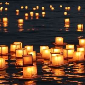 Every year on Memorial Day, the State of Hawaii holds a Floating Lantern Ceremony at the Ala Moana Beach to memorialized loved ones.  When the la...