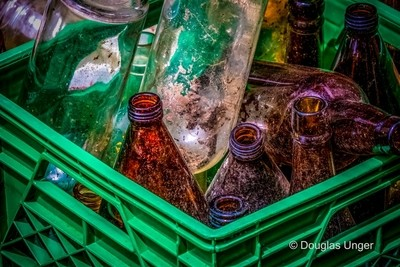 Bottles In A Crate