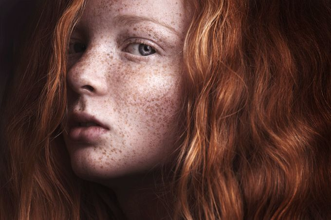 Signe by SisselaDK - Red Hair Photo Contest