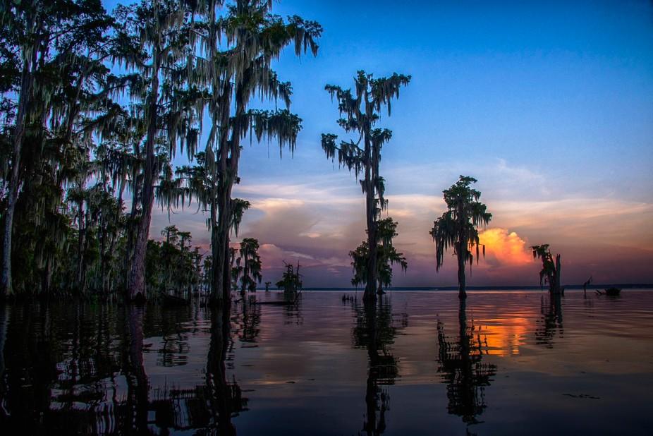Louisiana Bayou Sunrise