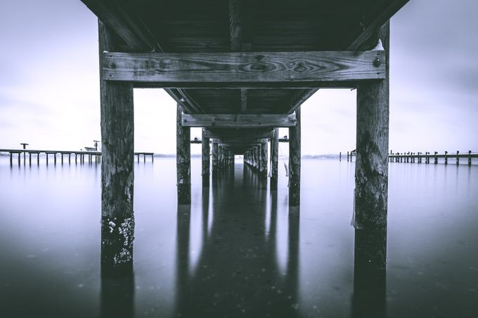 Beneath the Pier by clintfleming - Stillness Photo Contest