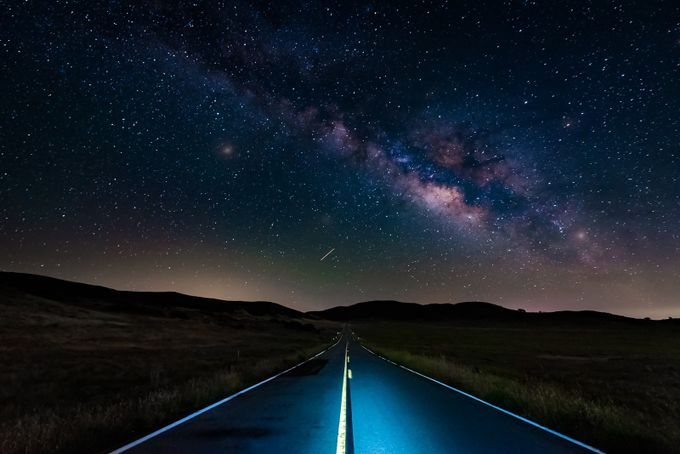 Pathway to the Heavens by DesiDrewPhotography - A Road Trip Photo Contest