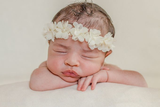 Just thinking <3 by DerlyPereaPhotography - Babies Are Cute Photo Contest