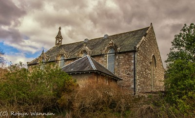 Scotland Loch Ness Church