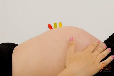 Babybauch von Christine