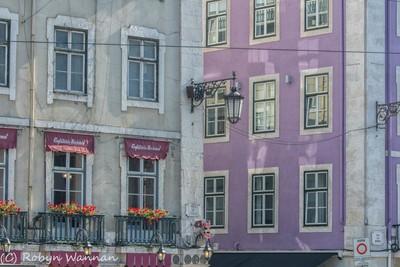 Lisbon The importance of street lights