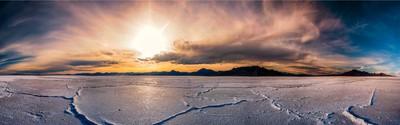 Salt Flats Panno (Sunset)