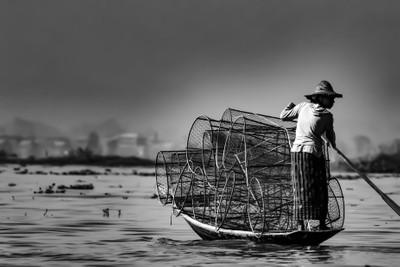 Fishermen - Inle Lake - Burma