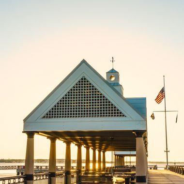 Pier on the Cooper River, Charleston, South Carolina