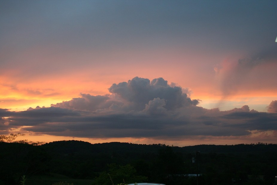 Nothing better than a beautiful east Tennessee Sunset!