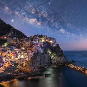 Manarola Milky Way 1