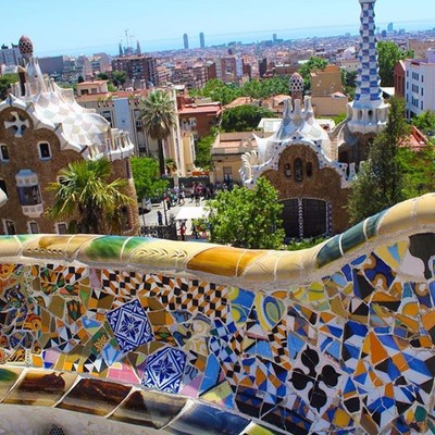 Getting high with Gaudí