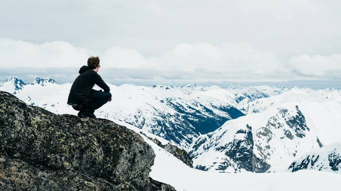 On top of the world by Mattofstie - One With Nature Photo Contest