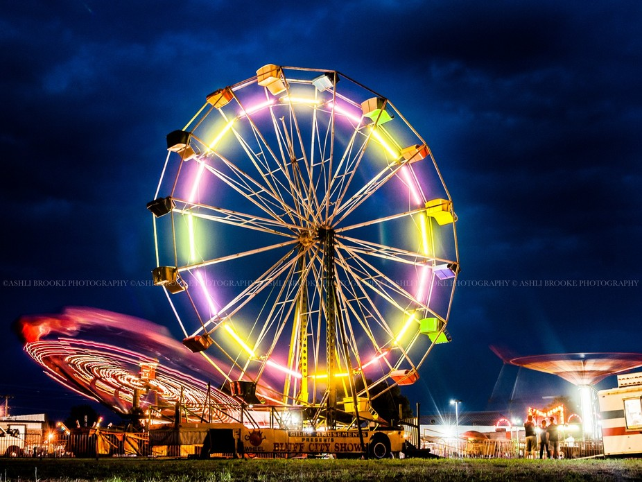 Shot at a very tiny carnival in southeast Missouri in the early summer months.  Right after I sho...