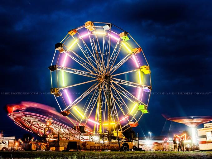 Tiny Carnival by ashlibrookephotography - Circle Games Photo Contest