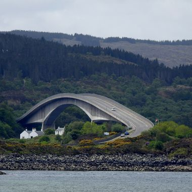 Skye Bridge from a different angle ........
